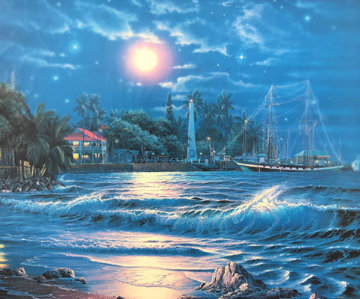 Lahaina Starlight I 1995  Limited Edition Print by Christian Riese Lassen
