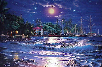 Lahaina Starlight 1980 Super Huge Limited Edition Print - Christian Riese Lassen