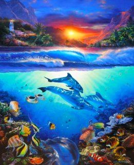 Mystical Journey 2005 Limited Edition Print by Christian Riese Lassen