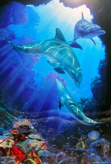 Serene Sanctuary 2003 Limited Edition Print by Christian Riese Lassen
