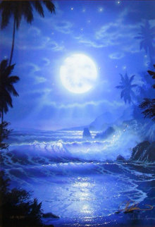 Maui Blue 2003 Limited Edition Print - Christian Riese Lassen