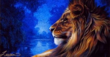 Majesty III - Huge Limited Edition Print - Christian Riese Lassen