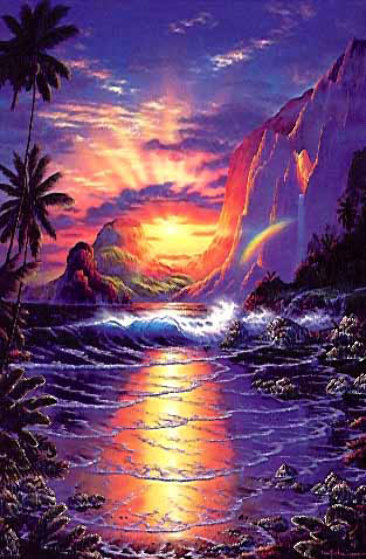 Heaven On Earth 1990 Limited Edition Print by Christian Riese Lassen