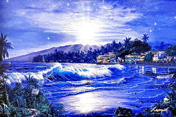 Moonlit Cove Limited Edition Print - Christian Riese Lassen