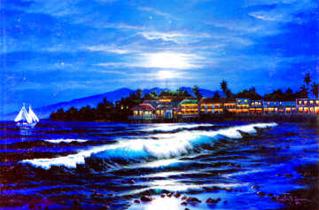 Maui Mood, Suite of 3 Prints 1986 With Remarks Limited Edition Print - Christian Riese Lassen