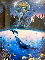 Whale Star AP 1995 Limited Edition Print by Christian Riese Lassen - 2