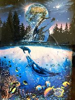 Whale Star AP 1995 Limited Edition Print by Christian Riese Lassen - 3