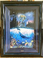 Whale Star AP 1995 Limited Edition Print by Christian Riese Lassen - 1