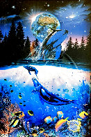 Whale Star AP 1995 Limited Edition Print by Christian Riese Lassen - 0