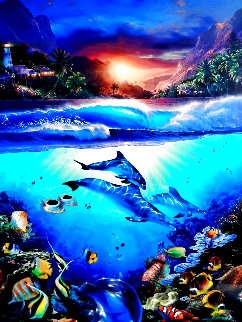 Mystical Journey 2004 Limited Edition Print - Christian Riese Lassen