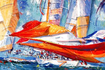 Rounding the Mark Limited Edition Print - Christian Riese Lassen