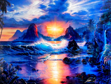 Dawn of a New Era  - Huge Limited Edition Print - Christian Riese Lassen