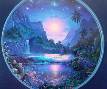 Tranquil Moments   (With Diamonds) 1999 Limited Edition Print - Christian Riese Lassen