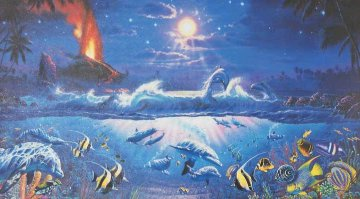 Dawn of Pele 1994 Limited Edition Print by Christian Riese Lassen