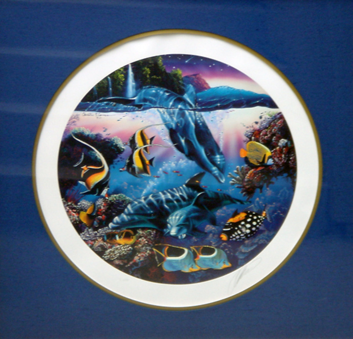 Dolphins of Hana 1991 Limited Edition Print by Christian Riese Lassen