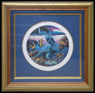 Dolphins of Hana 1991 Limited Edition Print by Christian Riese Lassen - 1