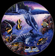 Dolphins of Hana 1991 Limited Edition Print by Christian Riese Lassen - 2
