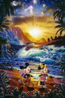 Seaside Romance 1994 Limited Edition Print - Christian Riese Lassen