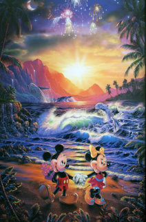 Disney Suite of 3 1994 Limited Edition Print by Christian Riese Lassen
