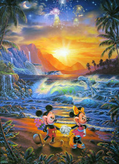 Seaside Romance 1996 Limited Edition Print by Christian Riese Lassen