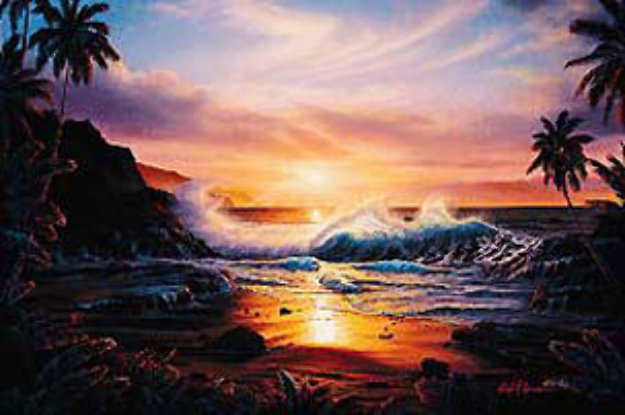 Maui Gold 1985 Limited Edition Print by Christian Riese Lassen