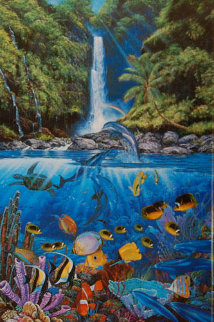 Rainbow Sea 1996 Limited Edition Print - Christian Riese Lassen