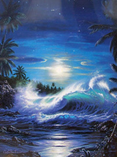 Maui Moon II 1993 Limited Edition Print - Christian Riese Lassen