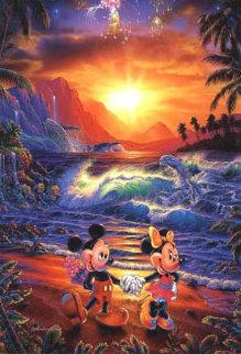 Seaside Romance 1996 Limited Edition Print - Christian Riese Lassen