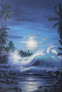 Maui Moon II 1994 Limited Edition Print by Christian Riese Lassen