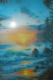 Island Sunrise 1995 Limited Edition Print by Christian Riese Lassen