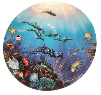 Jewels of Maui Suite of 2 1991 Limited Edition Print by Christian Riese Lassen
