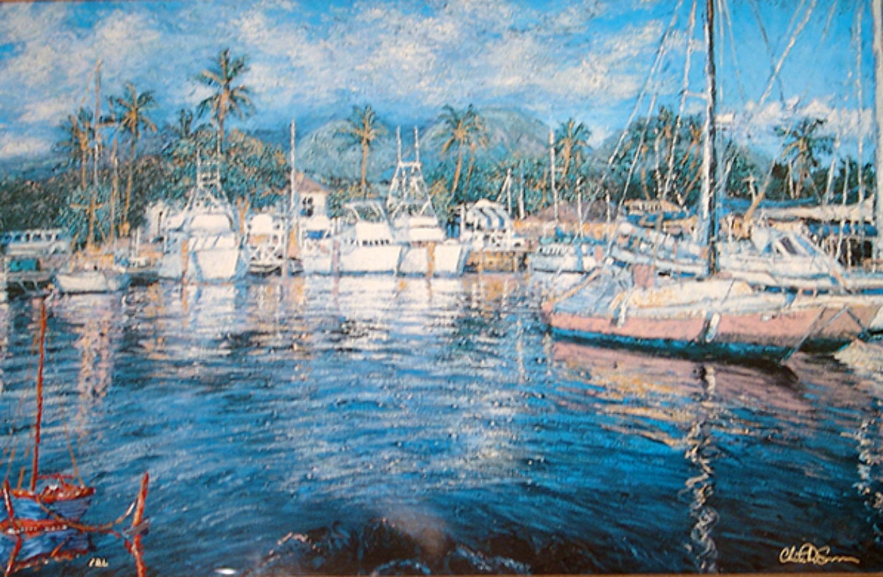 Maui Colors 1990 Limited Edition Print by Christian Riese Lassen