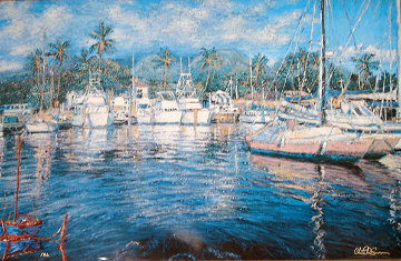 Maui Colors 1990 Limited Edition Print - Christian Riese Lassen