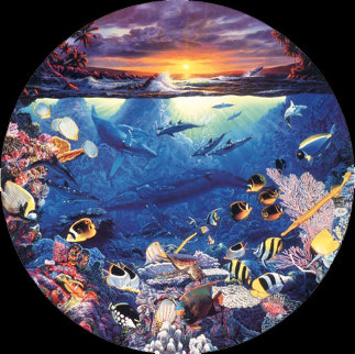 Circle of Life 1989 Limited Edition Print by Christian Riese Lassen