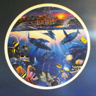 Starlight Lahaina 1991 Limited Edition Print by Christian Riese Lassen