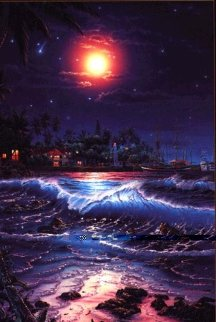 Lahaina Symphony 2001 Limited Edition Print - Christian Riese Lassen