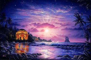 Temple of Light #1 in edition Embellished Limited Edition Print - Christian Riese Lassen