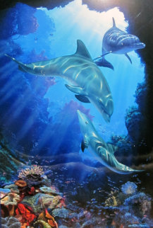 Serene Sanctuary AP 2003 Limited Edition Print by Christian Riese Lassen