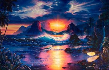 Dawn of a New Era 2004 Limited Edition Print - Christian Riese Lassen