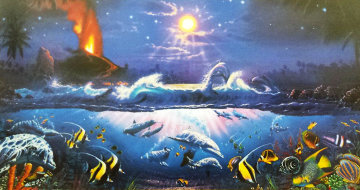 Dawn of Pele 1994 Limited Edition Print - Christian Riese Lassen