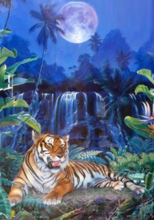 Eye of the Tiger 1998 Limited Edition Print - Christian Riese Lassen