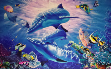 A Perfect World 1999 Limited Edition Print by Christian Riese Lassen