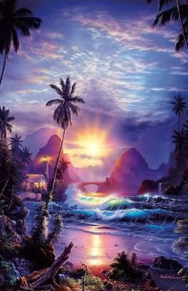 Beckoning Light 2000 Limited Edition Print by Christian Riese Lassen