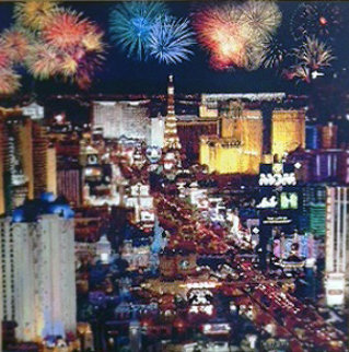Vegas Nights 2004 Limited Edition Print by Christian Riese Lassen