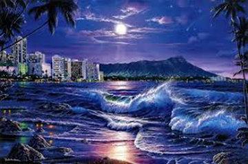 Waikiki Romance 2005 Limited Edition Print - Christian Riese Lassen