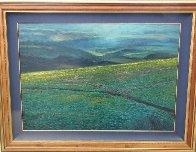Molokai Ranch, Hawaii 1985 70x80 Super Huge  Original Painting by Christian Riese Lassen - 2