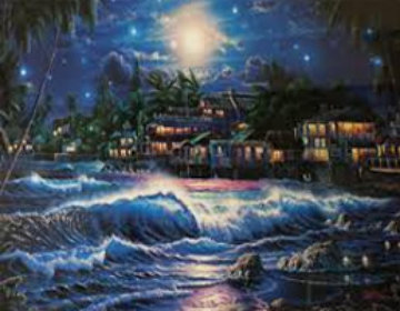 Lahaina Starlight II 2000 Limited Edition Print by Christian Riese Lassen