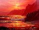 Island Sunset 2000 24x27 Original Painting by Christian Riese Lassen - 0