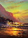 Hawaiian Sunset 2000 40x30 Original Painting by Christian Riese Lassen - 0