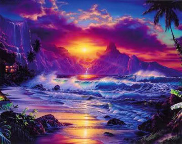 Escape 2002 Limited Edition Print by Christian Riese Lassen
